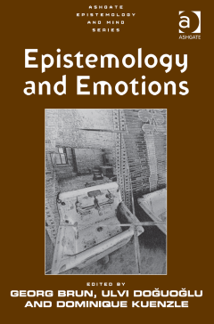cover Epistemology and Emotions